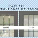 Easy DIY Main door design makeover