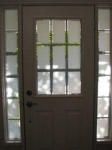 Easy DIY front Door Makeover before
